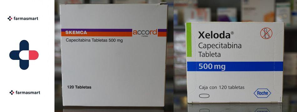 Pastillas Capecitabina 500 mg Precio