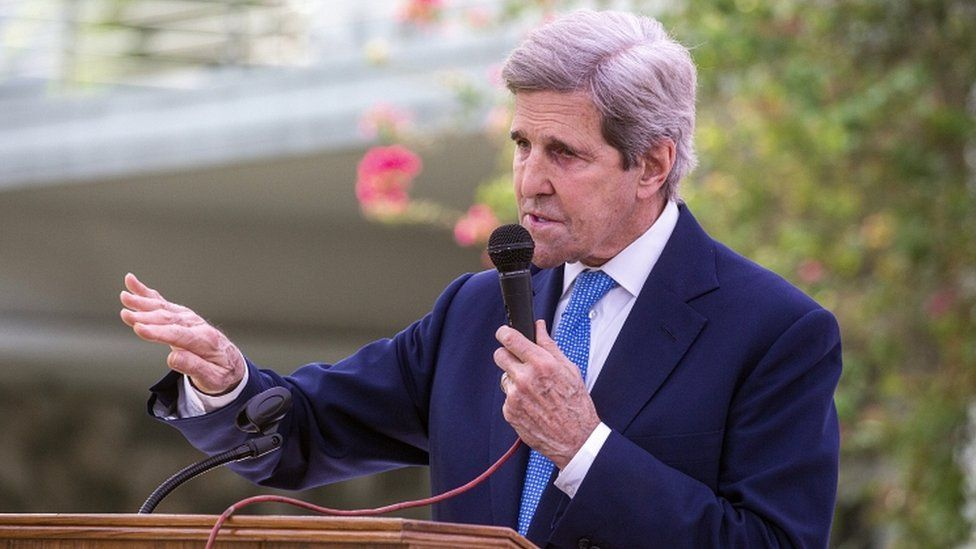 US envoy John Kerry woos China over climate