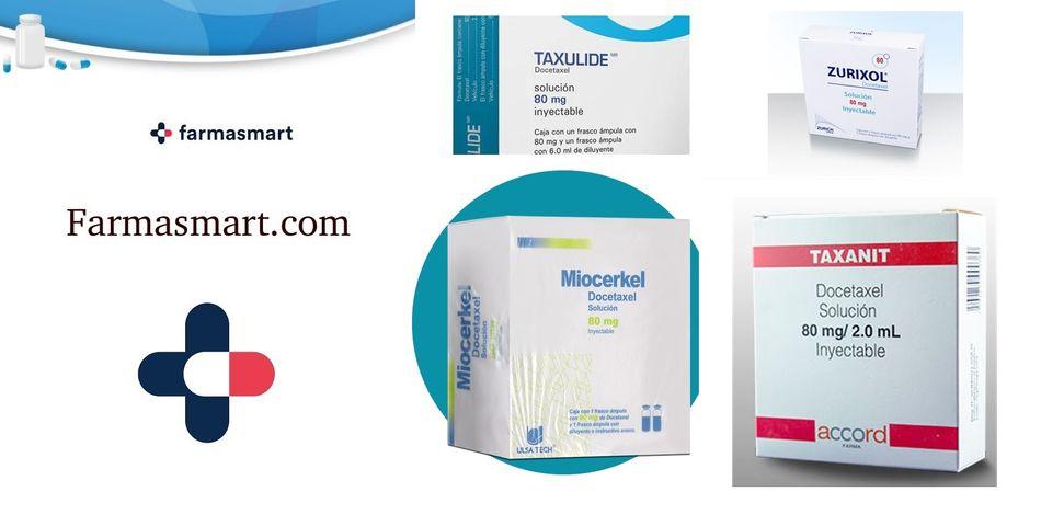 Taxulide Docetaxel 80 mg solución inyectable